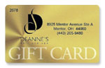 Deannes Hair and Spa Gift Cards